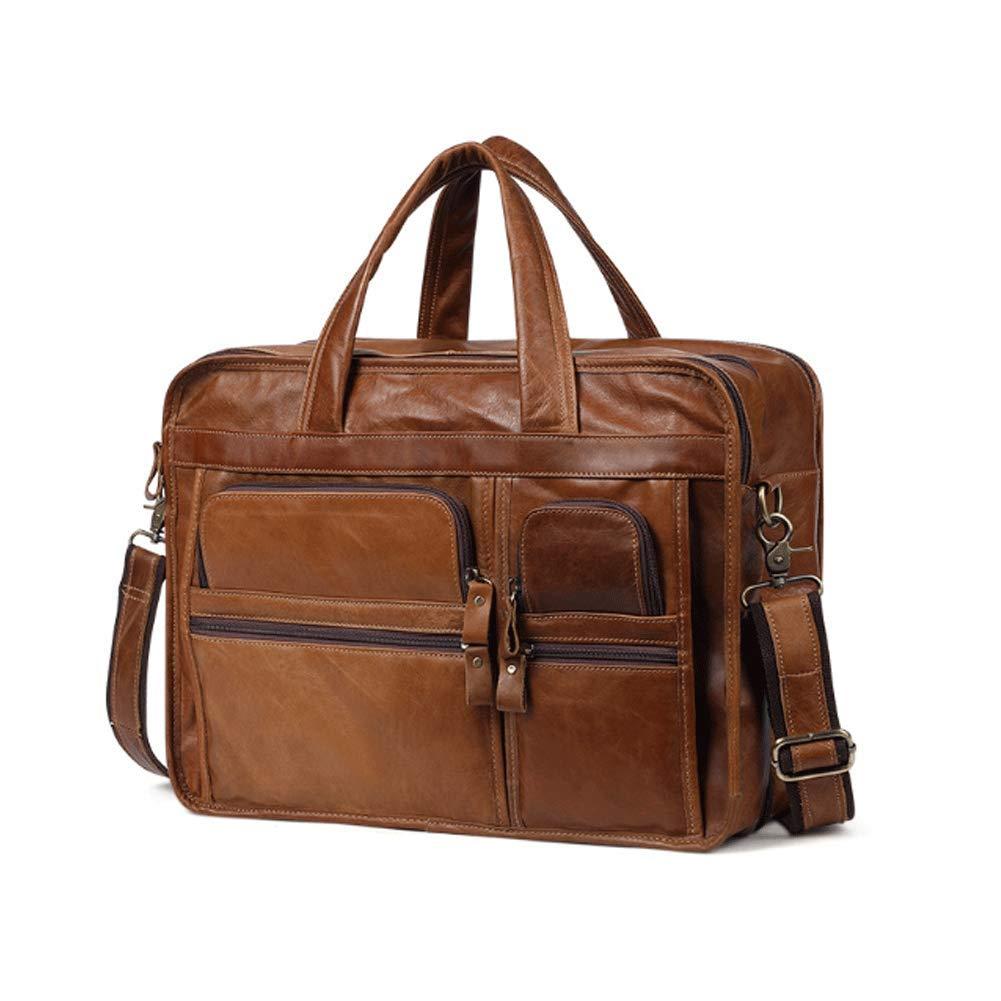 Coffee Laptop-Tasche, Reise-Aktentasche mit Organizer-Hybrid-Schultertasche, Wasserresistente Business Messenger-Aktentaschen für Männer und Frauen für 15,6-Zoll-Laptop, Computer, Tablet