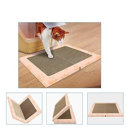 Corrugado Papel Cat Scratch Board Tipo Libro De Doble Cara Gato Pie ...