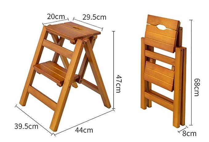 Scala due gradini legno: scale interne in legno. produzione scale