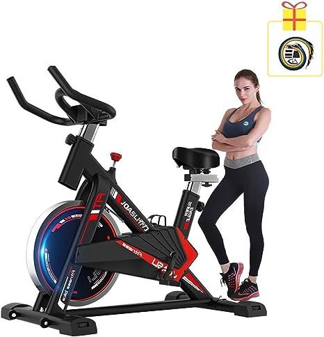 Spinning Cubierta de Bicicletas Ultra silencioso de Bicicleta de Ejercicios Inicio de Bicicletas Deportes Fitness Equipment Dispositivo de Entrenamiento de los aeróbicos, Puede ajustarse de Acuerdo a: Amazon.es: Deportes y aire libre