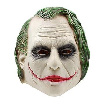 Halloween Batman Payaso Máscara De Látex Sombrero Oscuro Caballero De La Película Props para La Fiesta