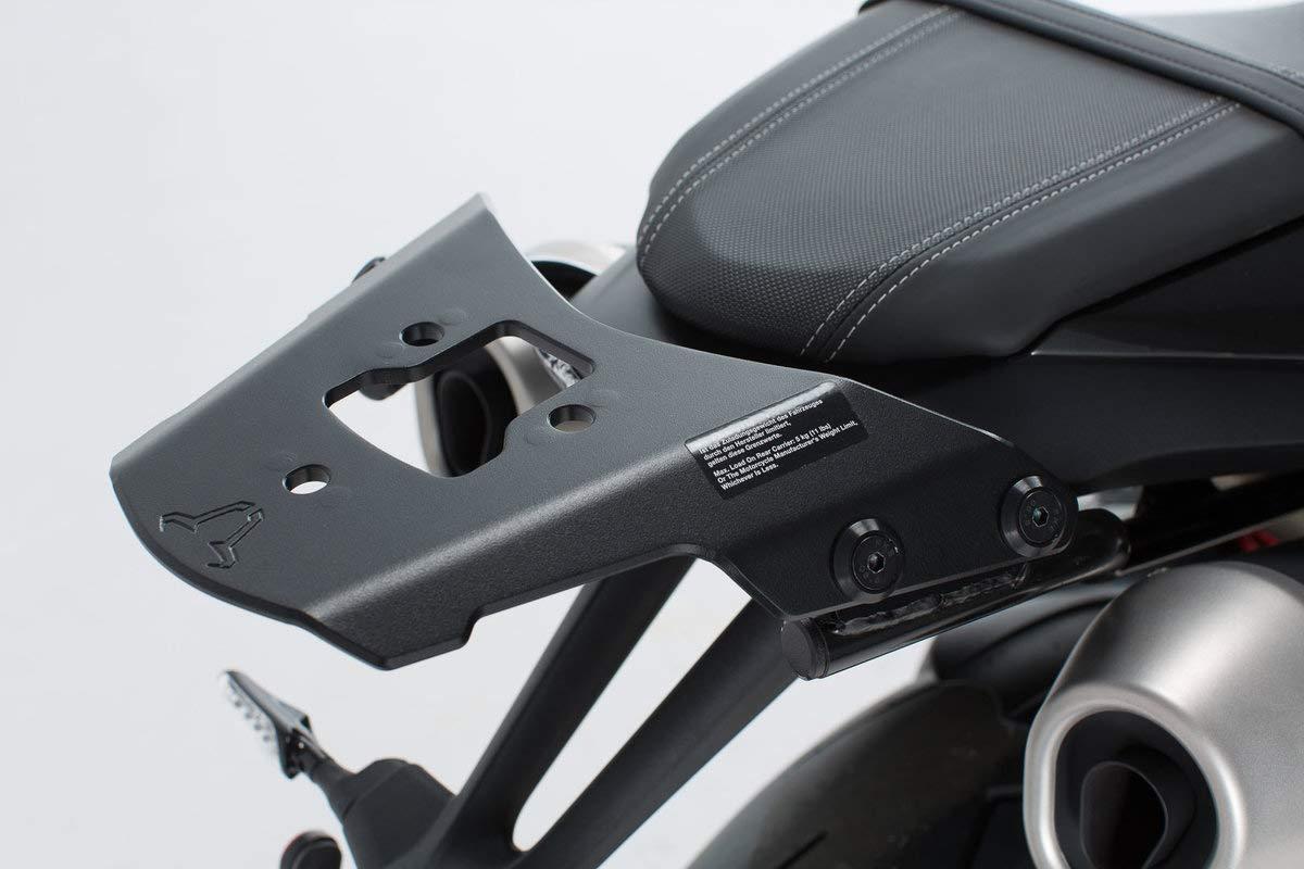 SW Motech GPT. 11.854.15000 Rack Pannier Rack for Triumph Speed Triple S/B/R 2015 –  Black SW-MOTECH GPT.11.854.15000/B