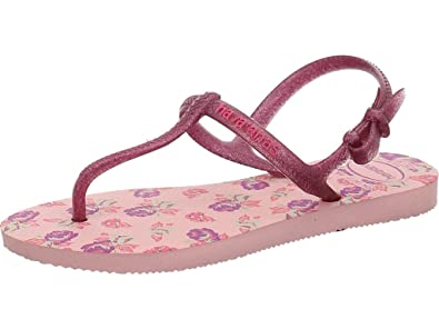 f8919344fb Havaianas Girls  Kids Freedom Print Wedge Heels Sandals  Amazon.co.uk  Shoes    Bags