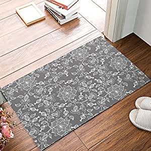 Felpudo antideslizante Felpudo para interiores Felpudo entrada alfombra alfombra colorido tropical hojas impresión DE al aire libre por Sun-Shine
