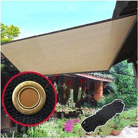 AGLZWY Al Aire Libre Solar Sombra Paño Toldos para Jardin Resistente a Los Rayos UV Bajar La Temperatura para Balcón Engrosamiento de Cifrado HDPE Protector Solar, Personalizable: Amazon.es: Hogar