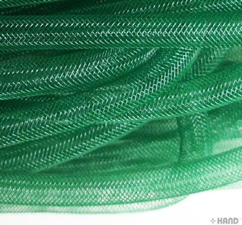 HAND Millinery tubolare Crin assortiti Plain colori Trim–Diametro 8mm, circa 30meters per confezione Dark Green