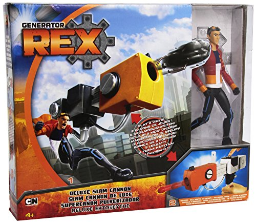 Generator Rex Deluxe Rex Figure with Slam Cannon