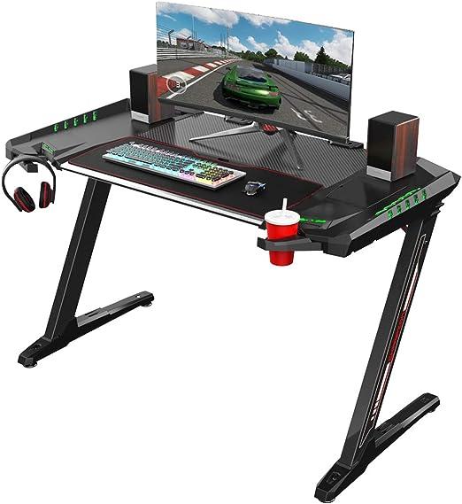 Eureka escritorio ergonómico para juegos Z2 – escritorio para ...