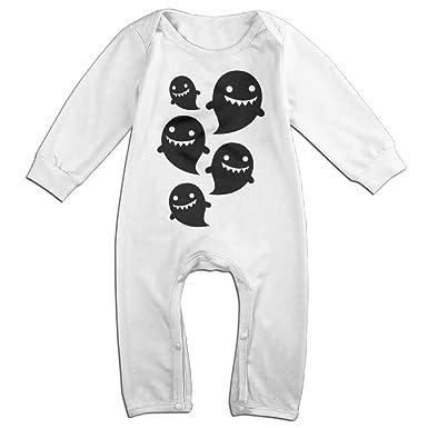 Amazoncojp 赤ちゃん服 キュート ゴースト マンガ イラスト 長袖