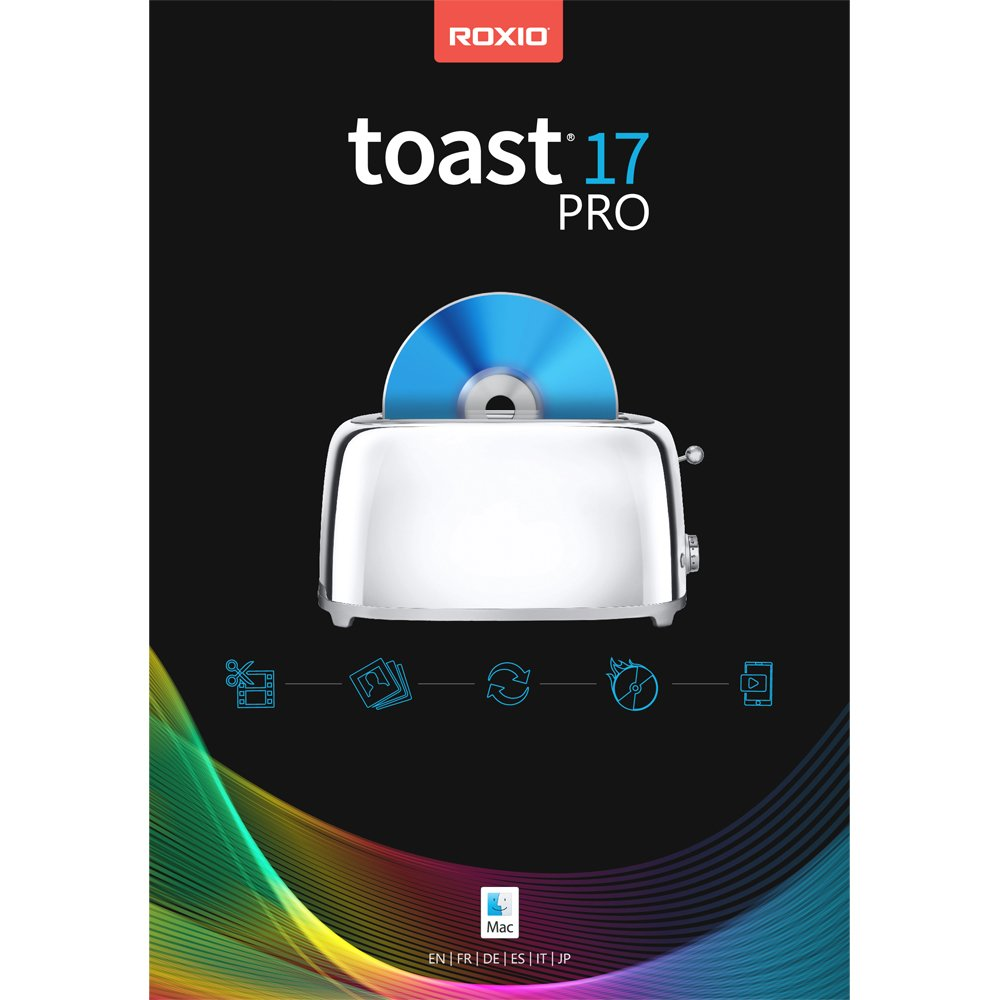 Toast 17 Pro - Blu-Ray and DVD Burner [Mac Download] [Old Version] by Roxio