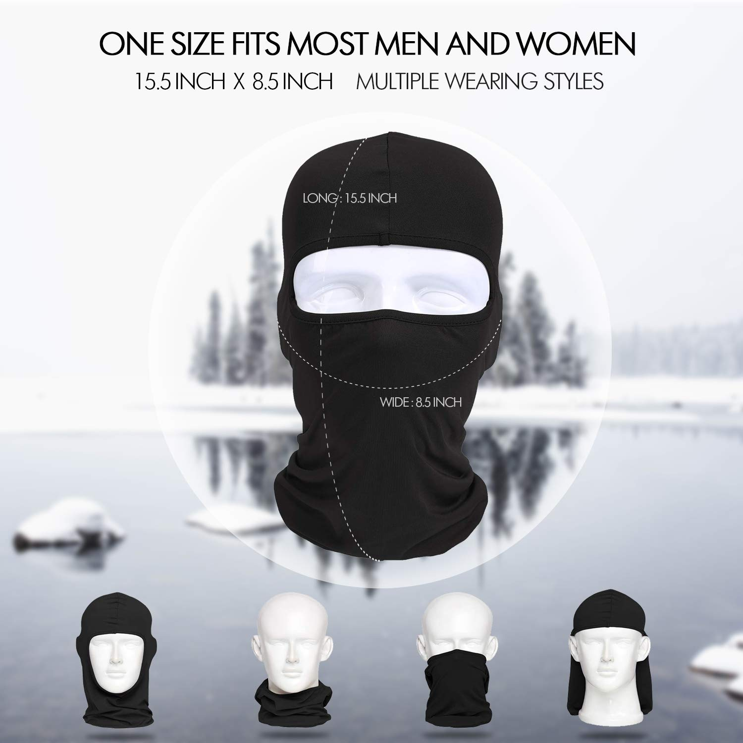 Your Choice Balaclava Face Mask Hot Weather Summer Dust Protection Sand