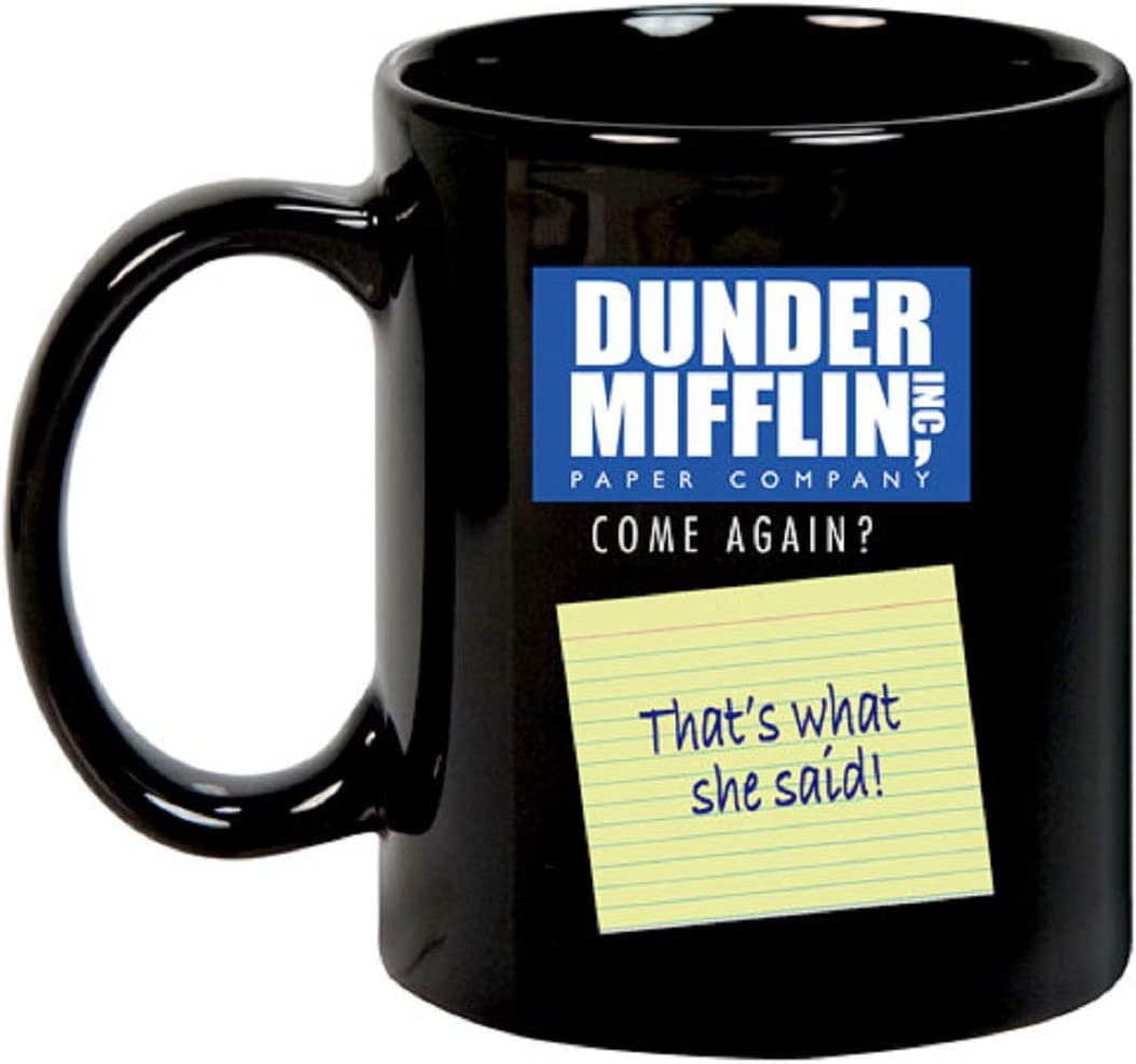 "The Office Dunder Mifflin""That's What She Said"" Heat Changing Mug"