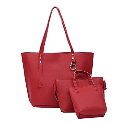 1055cb174f4e Nodykka Women Handbags Tote Satchel Top Handle Bag Leather Shoulder ...