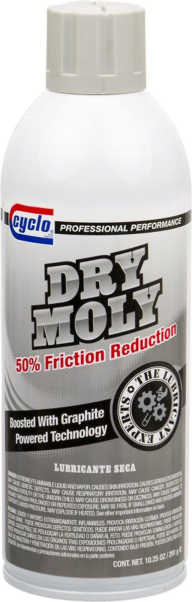 Niteo Cyclo Dry Moly Lubricant with Graphite, Aerosol Spray, 10.25 fl oz