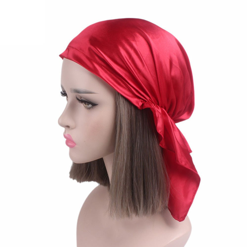 Litetao 2017 Women Charm Chemo Hat Beanie Swim Scarf Turban Head Shower Wrap Cap LTCP072017