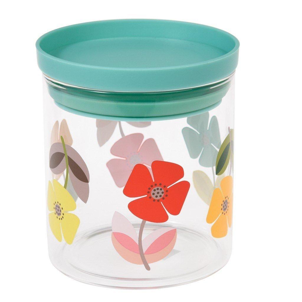 Air Tight Glass Storage Jar - Choice Of Design (Blue Tit) Rex International Ltd
