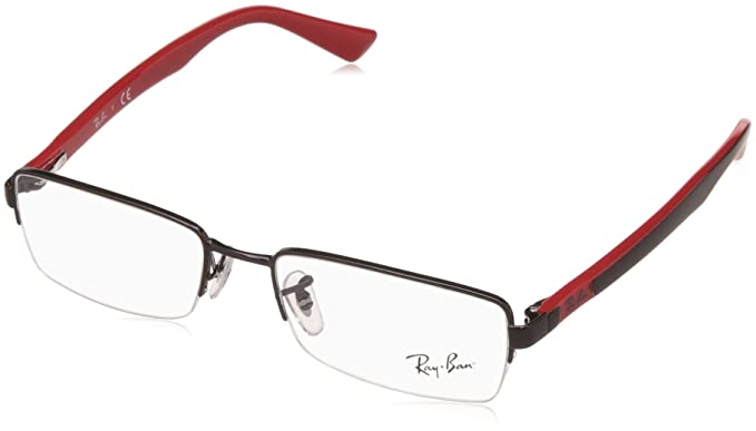 Ray-Ban Half Rim Rectangular Men\'s Spectacle Frame - (0RX6306I250952 ...