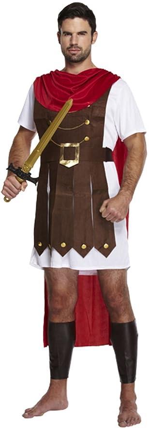 Hombre Romano Gladiator Caesar Emperor Guard Soldado Disfraz ...
