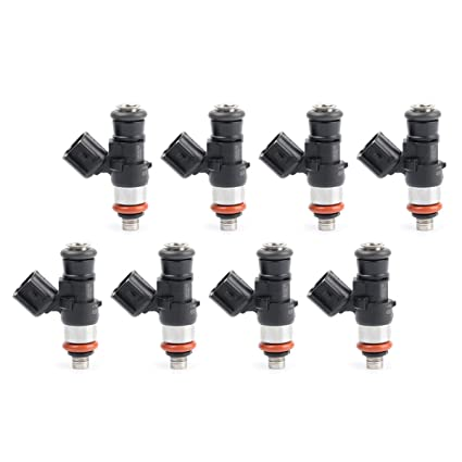 Amazon com: 8 60LB Fuel Injectors LS3 LS7 L76 L9 2 L98 L99