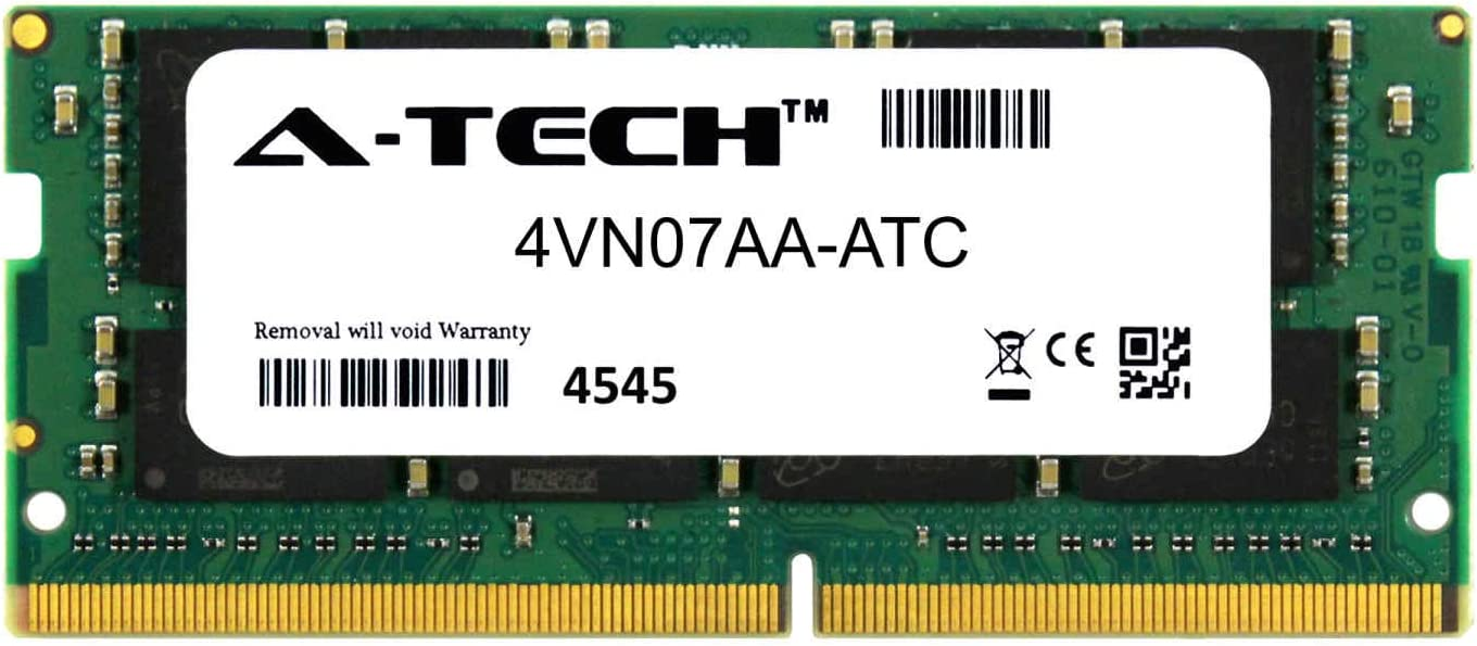 4VN07AA-ATC DDR4 2666MHz PC4-21300 Non ECC SO-DIMM 2rx8 1.2v A-Tech 16GB Replacement for HP 4VN07AA Single Laptop /& Notebook Memory Ram Stick