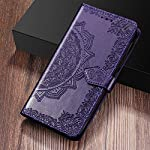ClickCase Queen Series, Faux Leather Flower Embossing Wallet Flip case Magnetic Closure Flip Cover for Redmi 9 Power…