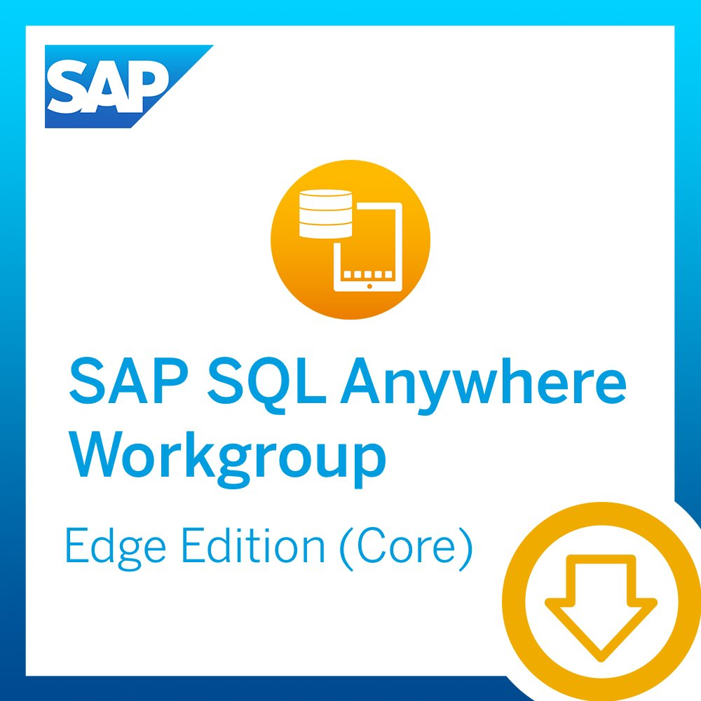 SAP SQL Anywhere Workgroup, Edge edition (Core license) [Download] by SAP