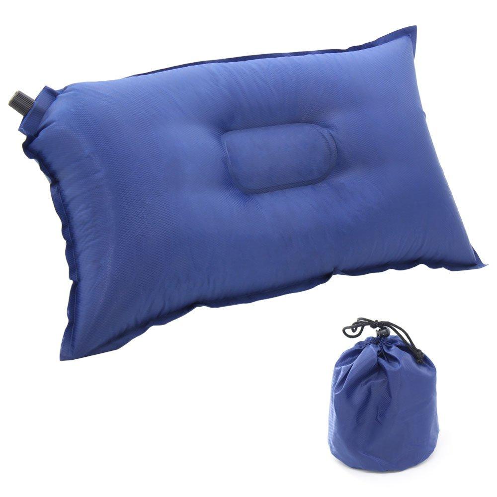 Xcellent Global Selbstaufblasbares Reisekissen Luftkissen Camping Kissen Tragbar Für Zelt Hängematten Wandern Außen Backpacking HG137 S-HG137