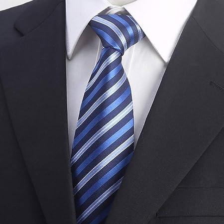 LYYRB Corbata Formal de Negocios para Hombre Casado con Seda 8 ...
