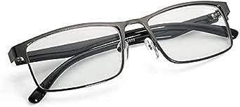 EgBert Mode Zwart Nearsighted Bril Metalen Volledige Frame Bijziendheid Bril