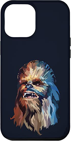 iPhone 12 Pro Max Star Wars Chewbacca Low Poly Portrait Case