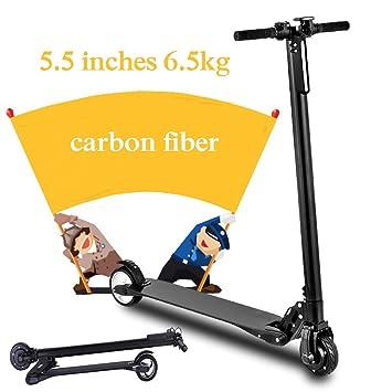 ertyu Patinete Electrico Adulto 6,5kg Ultra Ligero Scooter ...