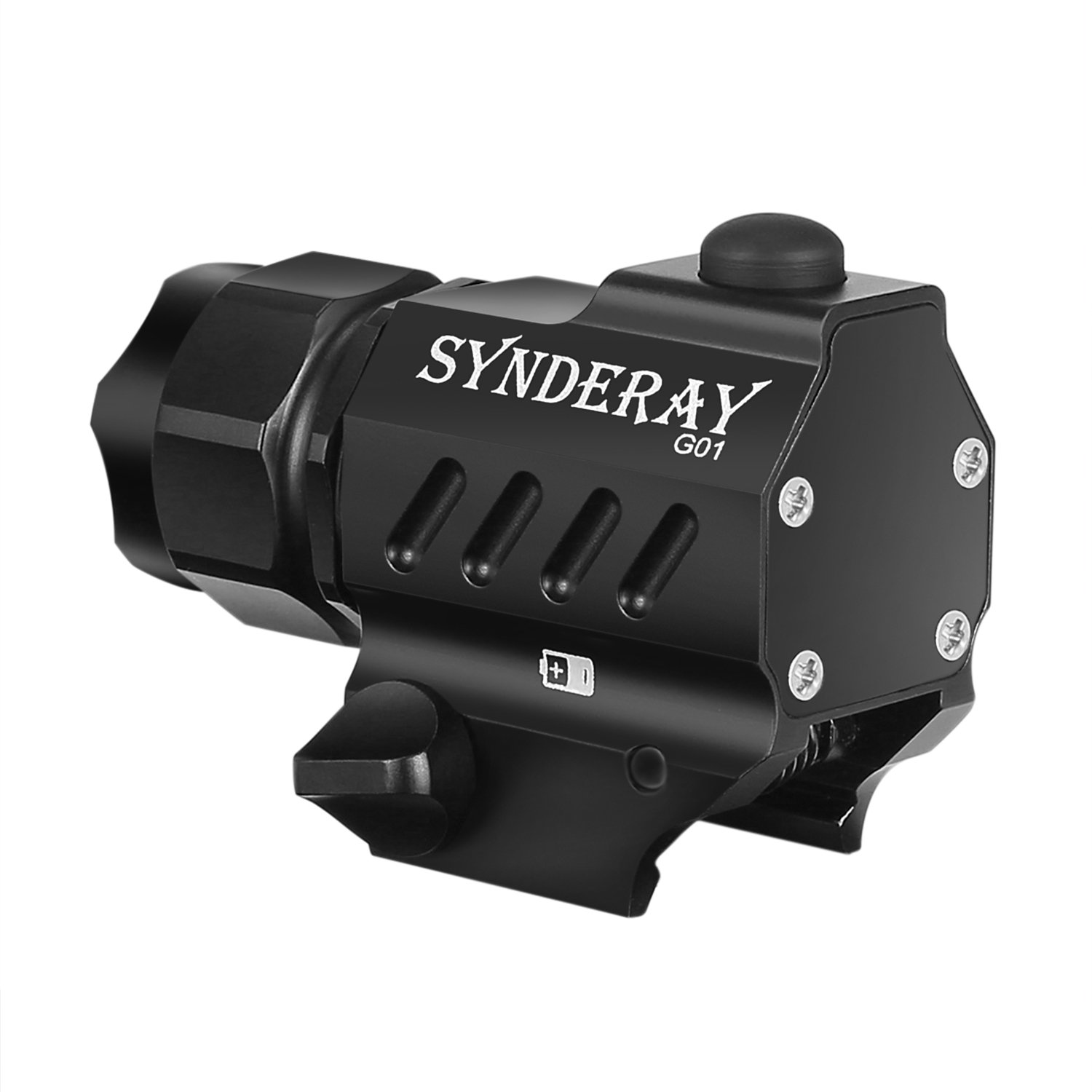 SyndeRay G01 CREE LED Tactical Gun Flashlight 2-Mode 230LM Pistol Handgun Torch Light for Hiking,Camping,Hunting and Other Indoor/Outdoor Activities by SyndeRay (Image #8)
