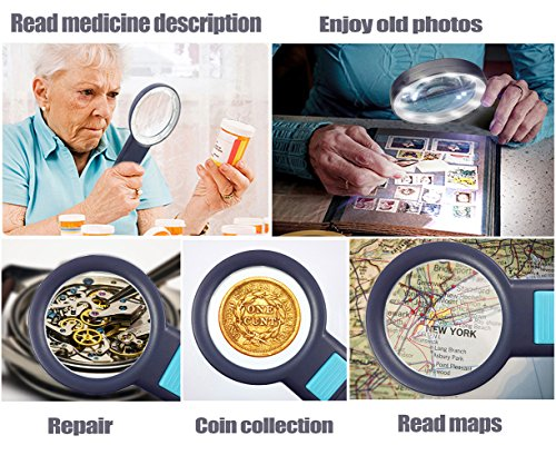 Magnifying-Glass-with-Light-Magnifier-for-Reading-Magnifying-Glass-for-Reading-Magnifier-with-Light10-LED-4X-Magnifier-GlassHandheld-Magnifier-with-LED-LightLighted-Magnifying-Glass-Lens