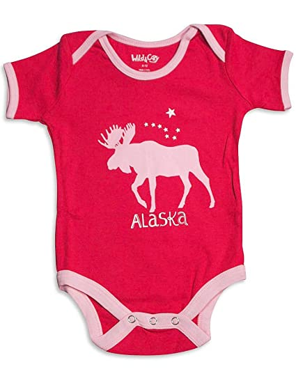 a12ea17a9980 Amazon.com  Horse Print Onesie for Baby Girls   Clothing