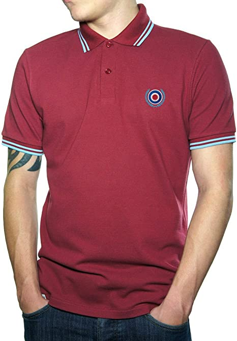 Northern Soul Mod Target Scooter Skin Ska Polo de Hombre.: Amazon ...