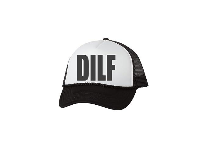 7d566cf0f3c Rogue River Tactical Funny Trucker Hat DILF Baseball Cap Retro Vintage Joke Dad  Father Husband (