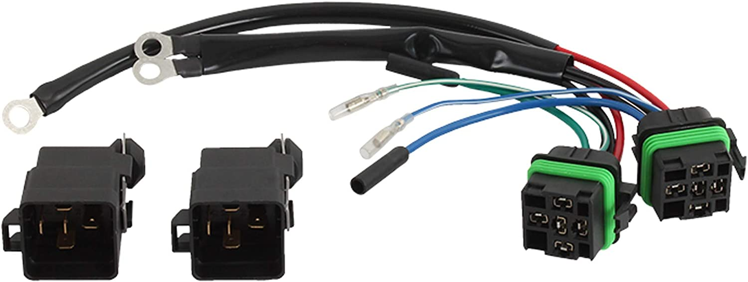 [SCHEMATICS_48IS]  Amazon.com: DB Electrical TRM9200 New Wiring Harness for Converts 3 Wire  Tilt Trim Motor to 2 Wire 30 Amp Fuse 2 Relays 9807-100 47-35-9003  28-9807-100 (Fuse NOT Included): Sports & Outdoors | 3 Wire Wiring Harness |  | Amazon.com