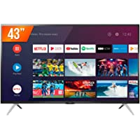 Smart TV LED 43'' Full HD Semp 43S5300, 2 HDMI 1 USB, Wi-Fi, Google Assistant, Controle Remoto Com Comando De Voz…
