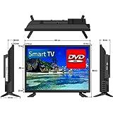 "24"" Full HD LED Television/Smart Wi-Fi TV + HD Tuner + DVD Player 12V/24V/240V"