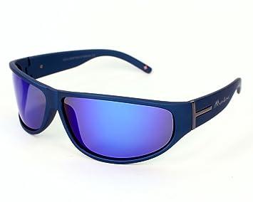 Montana gafas de sol SP 308 B Plástico Mate Azul Gris ...