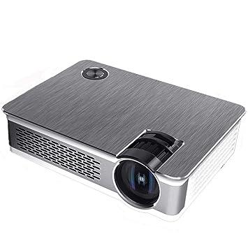 Zichen Proyector LED Nativo 1080P Proyector de Alto Brillo ...