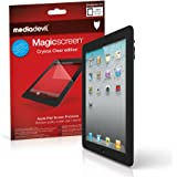 Apple iPad 2 / 3 / 4 (2nd / 3rd / 4th Generation, 2011-2012) Screen Protector, MediaDevil Magicscreen Crystal Clear (Invisible) Edition - (2 x Protectors)