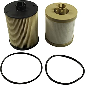 Amazon Com Jdmspeed New Fd4617 Fuel Filter Replacement For Ford Powerstroke F 250 F 350 F 450 Super Duty 6 4l Automotive