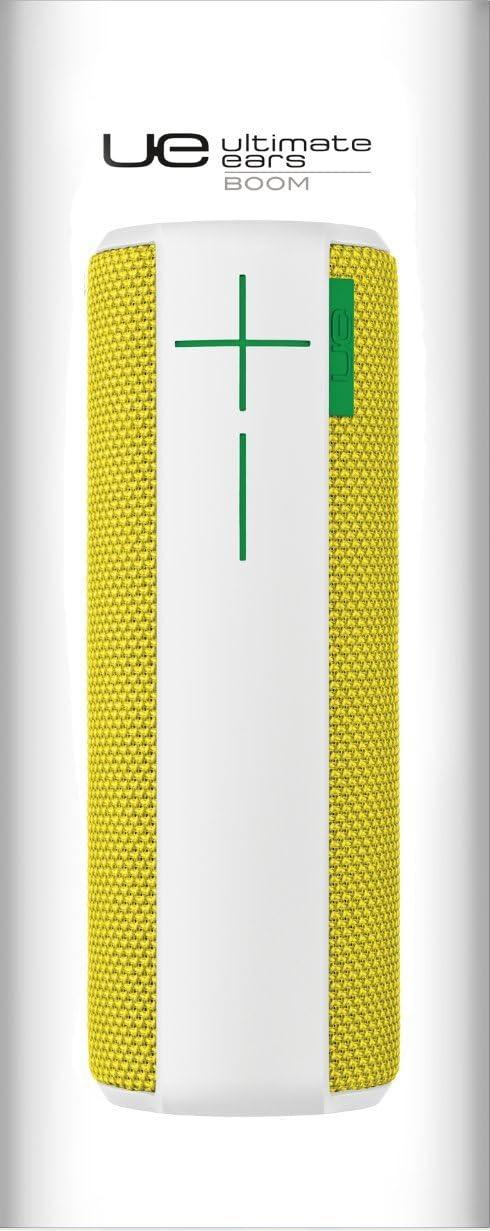 UE BOOM - Altavoz portátil de 12 W (Bluetooth, NFC, USB), color amarillo