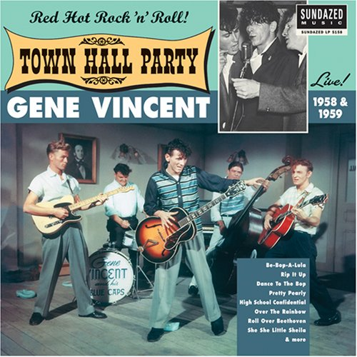 Live at Town Hall Party 1958/1959 [Vinyl] by Vincent, Gene