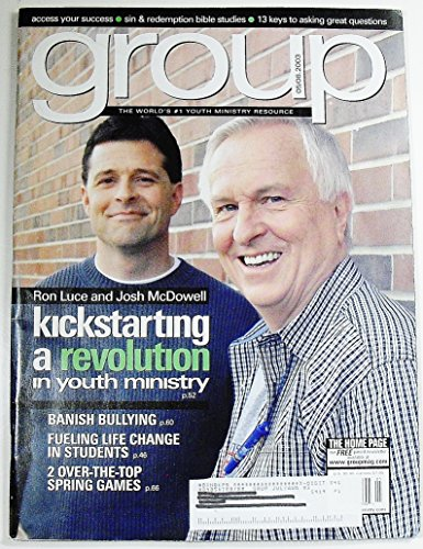 Group: Empowering Youth Leaders for Real-Life Ministry, Volume 29 Number 4, May/June 2003