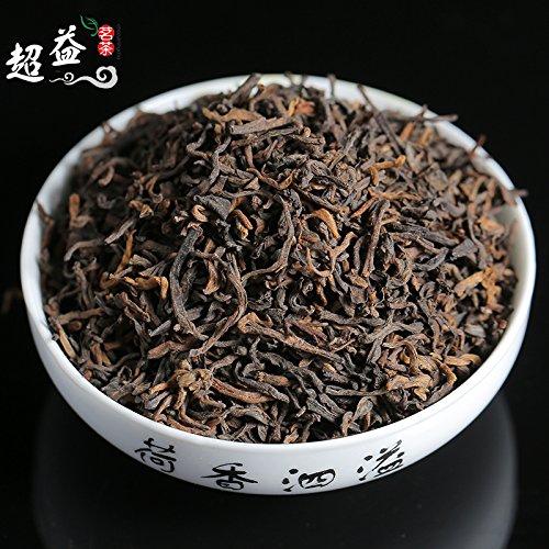 SHI 云南普洱茶陈年勐海宫廷普洱茶陈年普洱茶散茶普洱熟茶500g盒装 by CHIY-GBC ltd