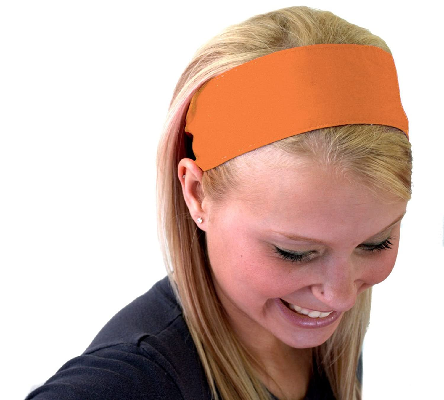 Bargain Headbands, Toasted Orange, Perfect Summer Inspiration Cute Soft Wide Headband