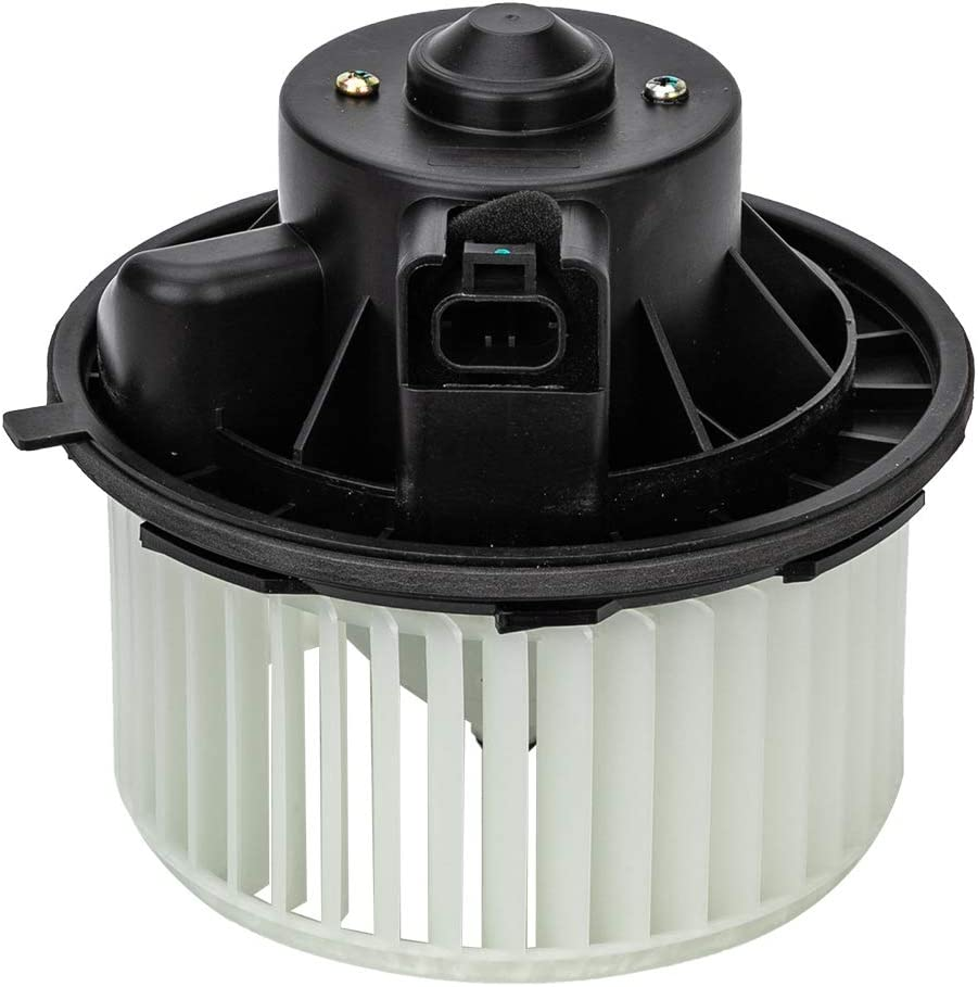 ESV Escalade 20760618 Tahoe 700164 Yukon GMC Sierra AC Heater Blower Motor Fit For Chevy Silverado Hummer H2 Avalanche Automatic Temperature Control 22741027 Suburban Replaces 15-81683