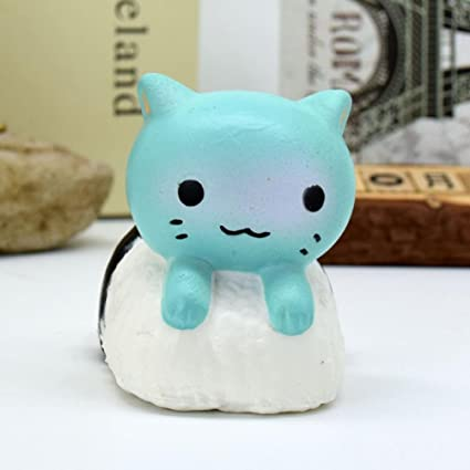 Lotusflower cartoon sushi cat squeeze toy mysterious amazon lotusflower cartoon sushi cat squeeze toy mysterious scented slow rising stress reliever relaxing gadget mightylinksfo